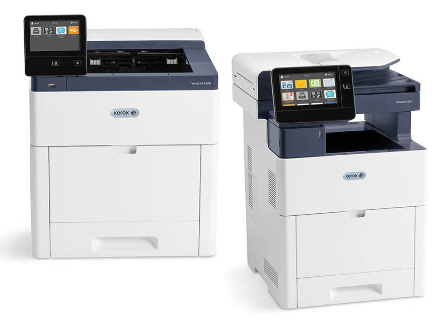The new Xerox VersaLink C605 Multifunction Printer