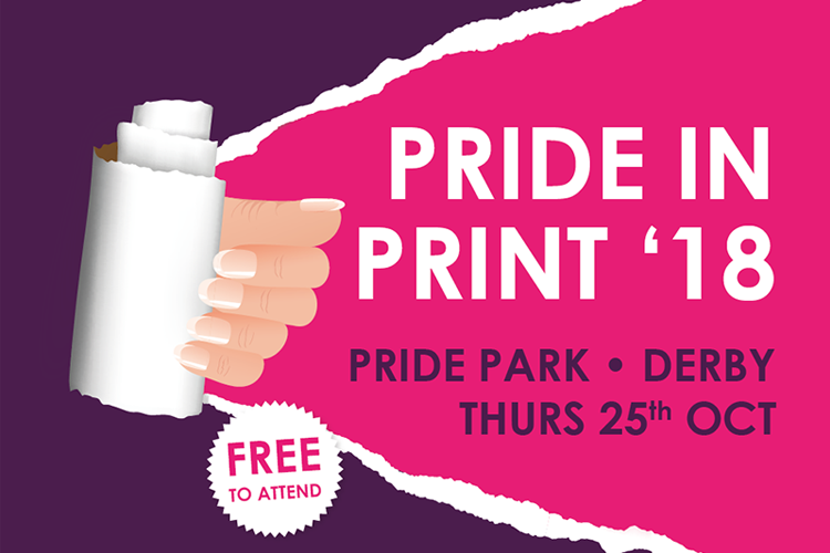 Derbys freshest digital printing event pride in print 2018 the reheart Choice Image